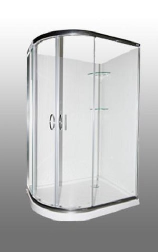 1200 x 900 curved door shower