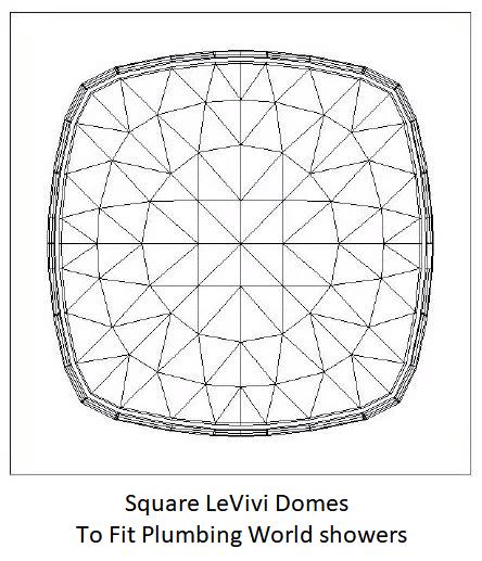 Plumbing World LeVivi DeSteam square