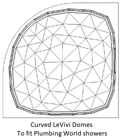 Plumbing World LeVivi DeSteam curved